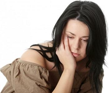Photo of Depressed Woman