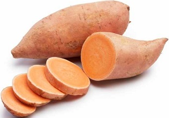 Fresh Sweet Potato for Hair Loss