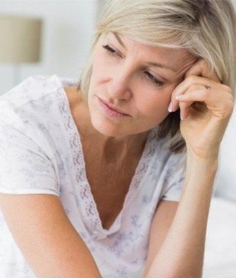 Woman Experiencing Premature Menopause