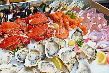 Photo of Different Seafoods