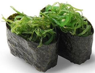 Seaweed in Sushi